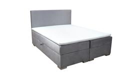 Łóżko Verde łoże kontynentalne z pojemnikami na pościel