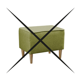Pufa Podnóżek do Fotel Kamea zielony PROMOCJA ZESTAW wumex24