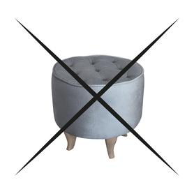 Pufa Podnóżek do Fotel Velvet PROMOCJA ZESTAW wumex24