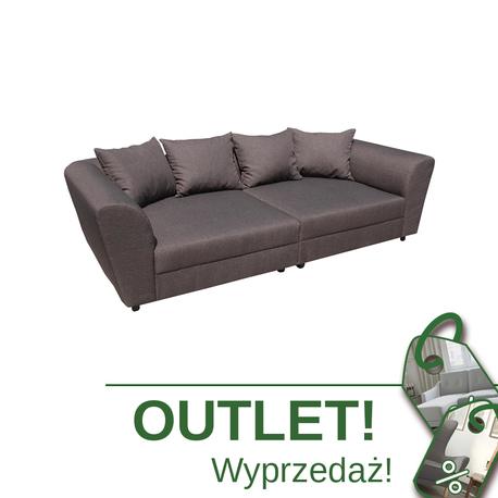 Brązowa Kanapa Liza OUTLET WUMEX24