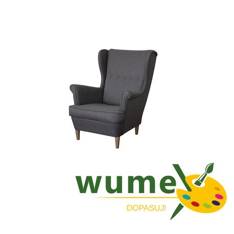 Fotel Kamea Uszak szeroki wybór tkanin wybór nóżek PROMOCJA wumex24