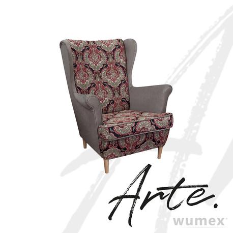 Fotel Kamea Uszak orientalny beżowy ARTE TopTextil WUMEX24