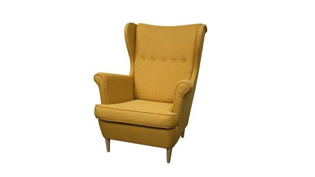 Fotel Kamea Uszak żółty