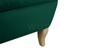 Fotel Velvet Uszak turkusowy miętowy szmaragd wybór nóżek PROMOCJA wumex24