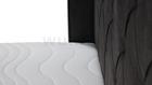 Łóżko Reno łoże kontynentalne z pojemnikami na pościel