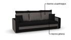 Kanapa Lotos rozkładana z funkcją spania i pojemnikiem na pościel